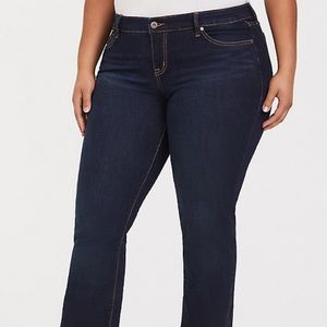 Torrid Relaxed Bootcut Jeans Size 14 R